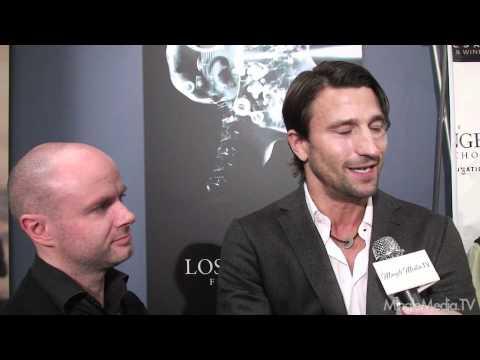Axel Wedekind & Stephen Manuel, Iron Door, at 3D Film Festival Red Carpet