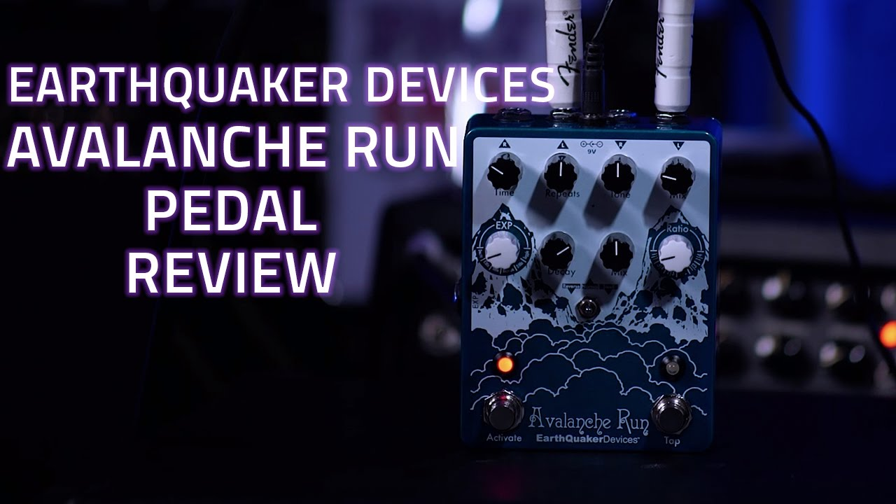 earthquaker devices avalanche run pedal review youtube. Black Bedroom Furniture Sets. Home Design Ideas