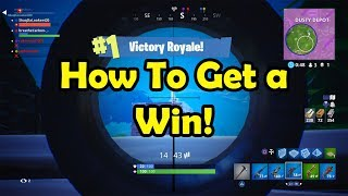 How To Get a Win! Fortnite Battle Royale! Highlight Reel #7