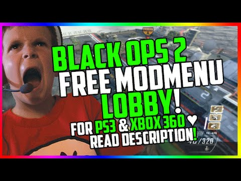 [BO2/XBOX/PS3] Black Ops 2 FREE Mod Menu GSC Challenge Lobby Elegance V4 + DOWNLOAD