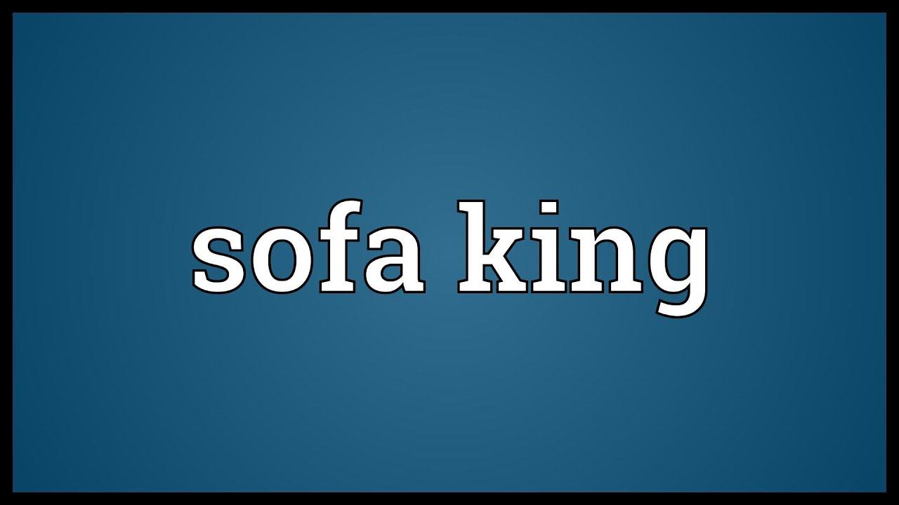 Sofa king joke meaning for Divan meaning