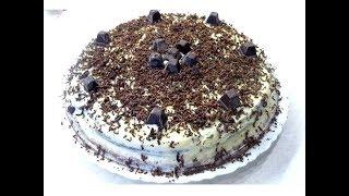 Торт ДЕНЬ НОЧЬ-Тот самый вкусный и простой. Домашний Торт, который готовила мама😱ТОРТ СО СГУЩЕНКОЙ