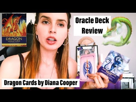 'Dragon Oracle Cards by Diana Cooper' REVIEW!? MINI PICK A CARD!