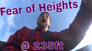 Overcoming a fear of heights at 235ft