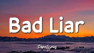 Download lagu Anna Hamilton - Bad Liar (Lyrics) 🎵