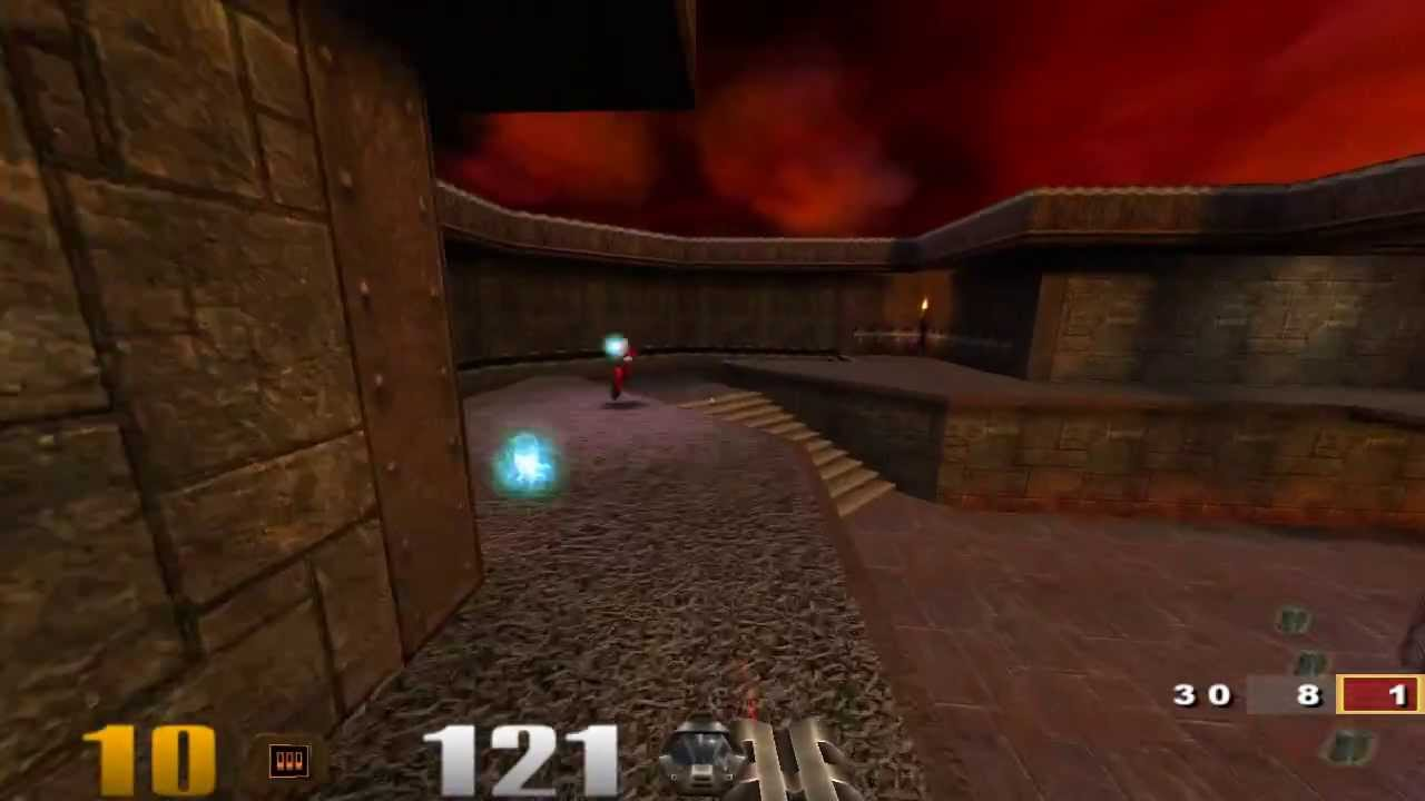 QUAKE III: Arena | Gameplay of Native Linux Games