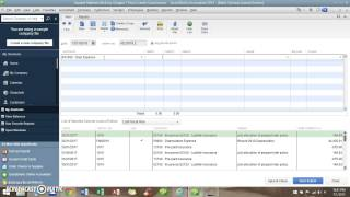 How To Use QuickBooks  - How to do Adjusting Entries