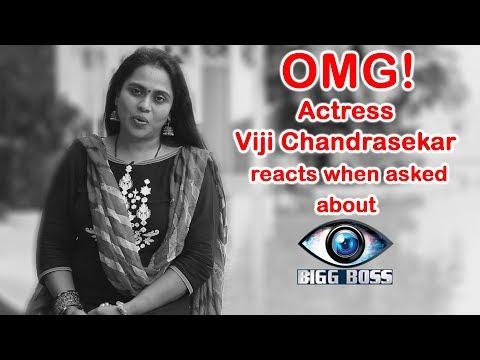 Bigg Boss Tamil : Actress Viji Chandrashekar's Interview