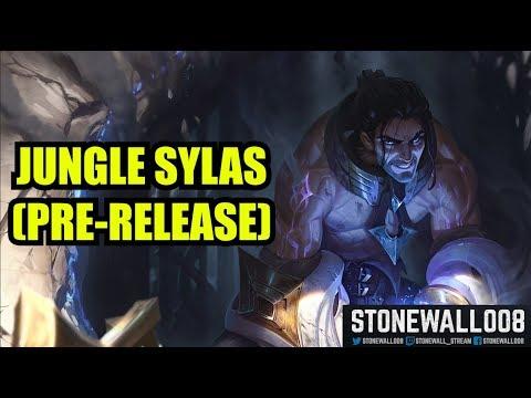 League of Legends - Jungle Sylas (pre-release)