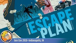 Escape Plan — game overview at Gen Con 2018