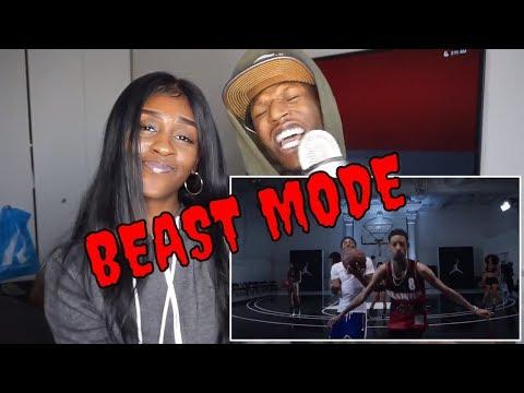 A Boogie Wit Da Hoodie  Beast Mode feat PnB Rock & NBA Youngboy Music  REACTION!