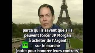 Buy Silver, Crash JP Morgan - maintenant en Français !