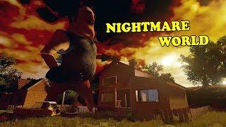 HELLO NEIGHBOR NIGHTMARE WORLD | Hello Neighbor