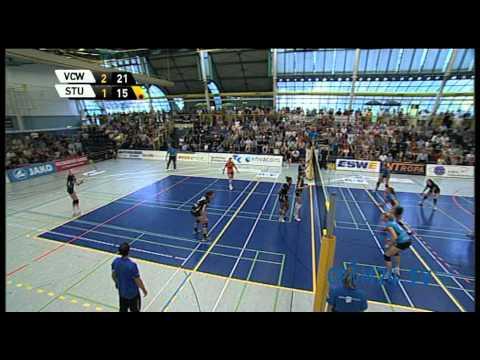 Volleyball VC Wiesbaden - Smart Allianz Stuttgart Teil 9