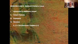 New Testament Survey - Session 6