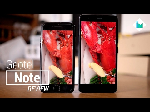 Geotel Note ($80) – Review en español ¿Mejor pantalla que iPhone?