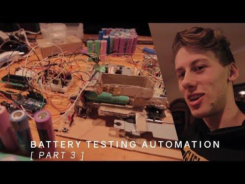 Hardware Programming | Battery Capacity Testing Robot [ Part 3 ]