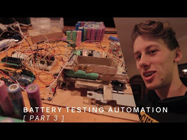 Hardware Programming | Battery Capacity Testing Robot [ Part 3 ]