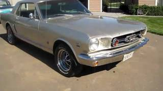 1965 Silver Ford Mustang GT Clone Walkaround