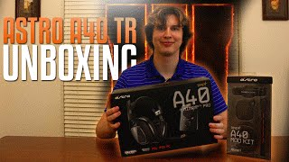 Astro A40 TR Unboxing & Black Ops 3 Mod Kit (w/ Discount Code)