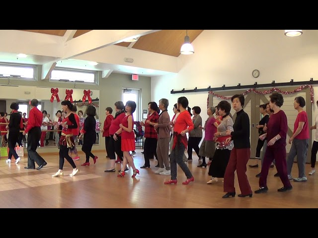 Last Christmas ( Steps from Stroll Along Cha Cha ) - Line Dance