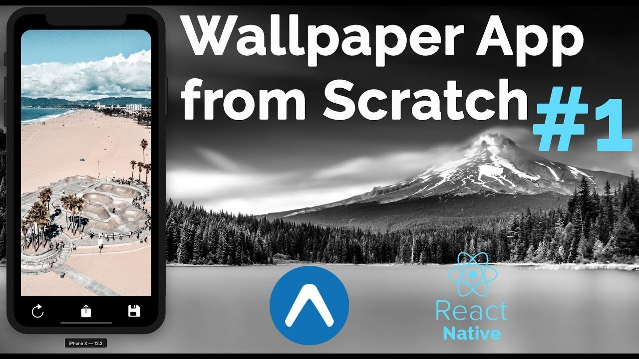 #1 Wallpaper App from Scratch   React Native   Expo