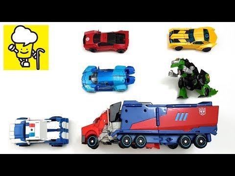 Transformers Robots in Disguise Optimus Prime Bumblebee Sideswipe トランスフォーマー 變形金剛