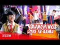 """Penampilan Nino Kuya Ditemani Keluarga Di Launching """"Love In Kamu"""""""