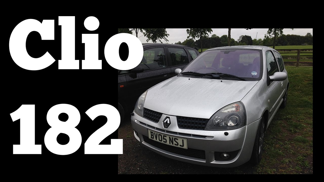 2005 Renault Sport Clio 182 Cup Pack: POV Drive