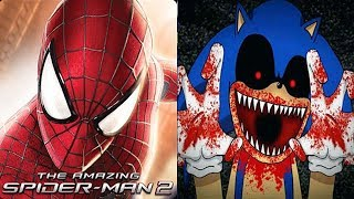 Spiderman Unlimited vs SONIC EXE Reborn BOSS FIGHT