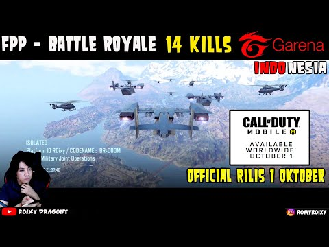 Official Rilis 1 Oktober - FPP Battle Royale 14 Kill !! Call of Duty Mobile (GARENA) Android - 동영상