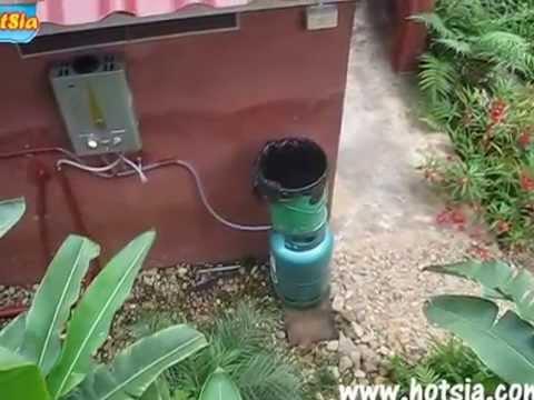 เครื่องทำน้ำอุ่นจากแก๊ส