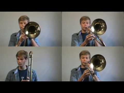Trombone Quartet: Hogwarts' Hymn