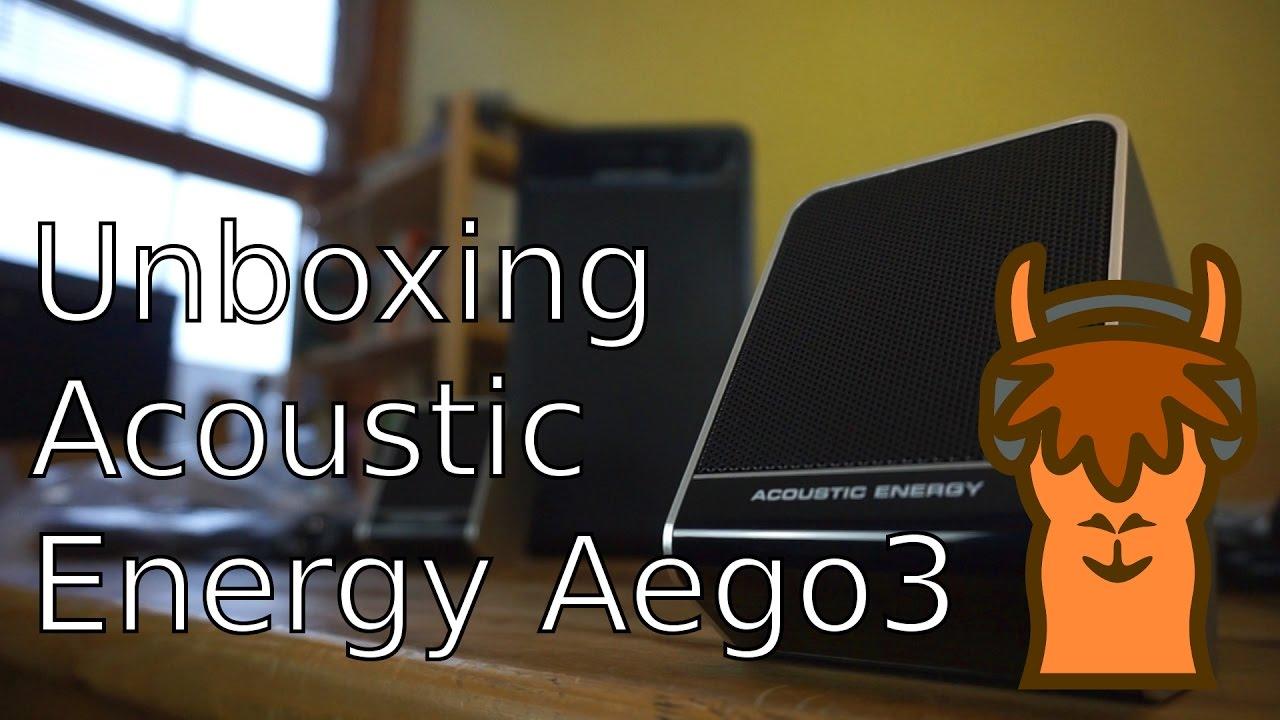 Unboxing The Acoustic Energy Aego3 Speakers Youtube Aego 3