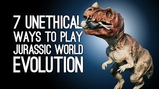 Jurassic World Evolution Gameplay: 7 Least Ethical Ways to Run Your Dinosaur Park