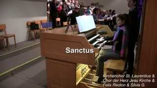 L. Vierne - Solemn Mass, op. 16 - Sanctus - Chor & Silvia G.