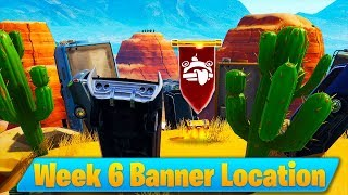 Secret Banner Location Week 6 Season 7 (Fortnite Find Secret Banner in Loading Screen 6)