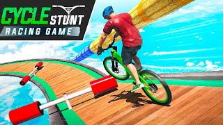 BMX Cycle Stunt Game: Mega Ramp Bicycle Racing - Android Gameplay