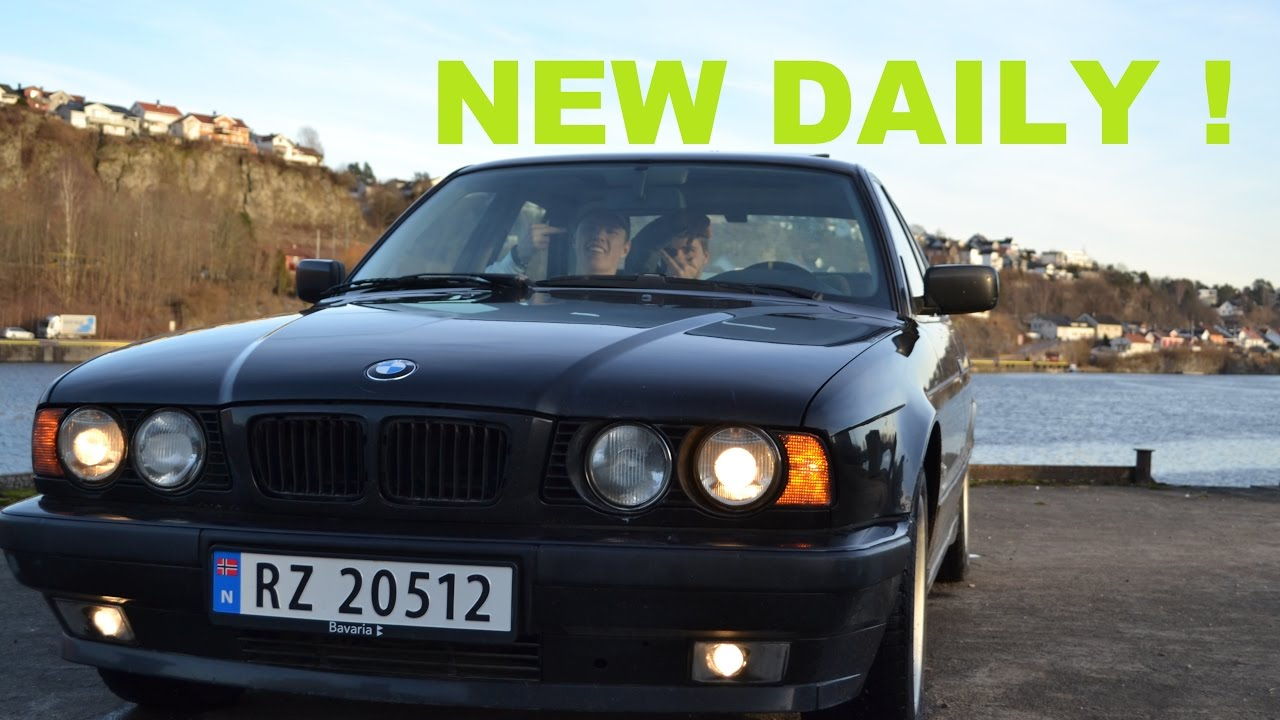 I Bought A Bmw E34 525i Bmw E34 525i Dailydrifter Ep 1 Youtube
