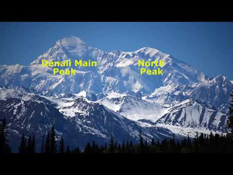 Tourist Train From Anchorage To Denali National Park Alaska