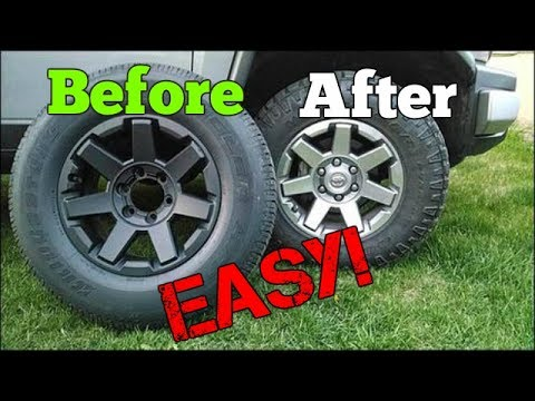 Easiest Free Fast Way To Remove Plasti Dip From Your Wheels Youtube