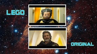 Guardians of the Galaxy Vol. 2 trailer in LEGO Side by Side Comparison