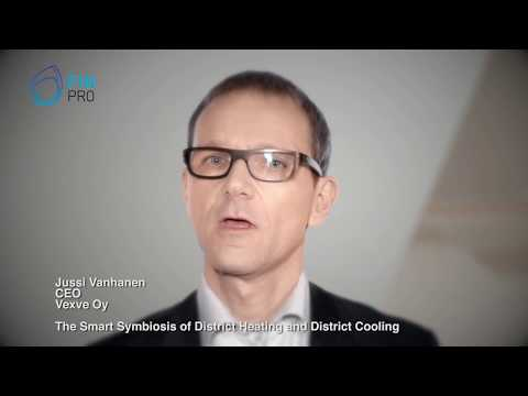 The Smart Symbiosis of District Heating and District Cooling - Vexve, CEO - Jussi Vanhanen
