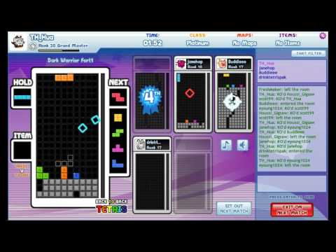 【Tetris Friends】Arena模式 與路人們對戰25分鐘