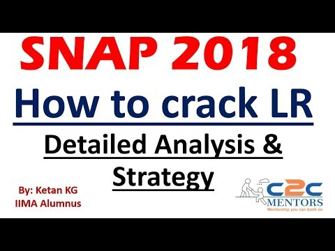 SNAP Logical Reasoning Analysis & Strategy