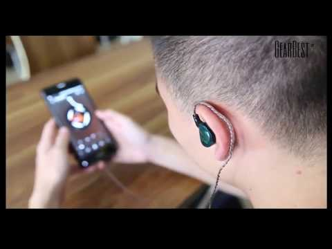 KZ AS10 5BA HiFi Stereo Earphone In Ear Earbuds