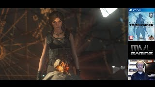 Rise of the Tomb Raider (PS4) LIVE Part 9