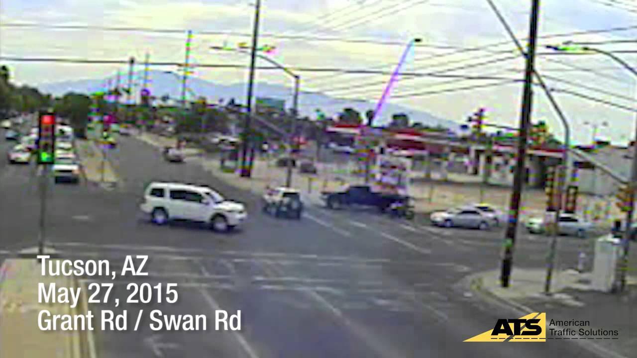 red light running violation in tucson arizona youtube