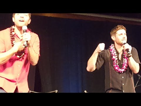 Misha/Jared, J2M, Misha/Jensen Panels - Honolulu 2017