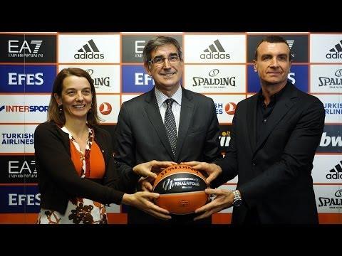 Final Four logo, Fan Zone, EA7 Emporio Armani partnership revealed in Milan!